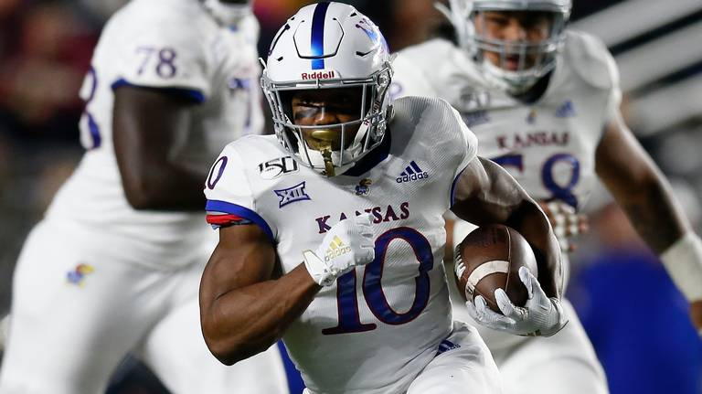 KU football's leading rusher no longer with team, coach Les Miles says