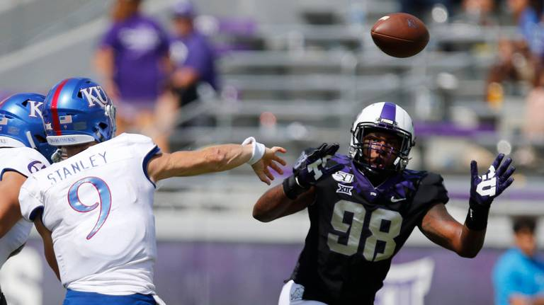 Grades from KU football's 51-14 loss to TCU and looking ahead to Oklahoma