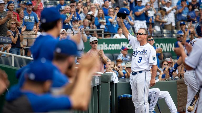 Royals give skipper Ned Yost a walk-off win in his walk-off game for Kansas City