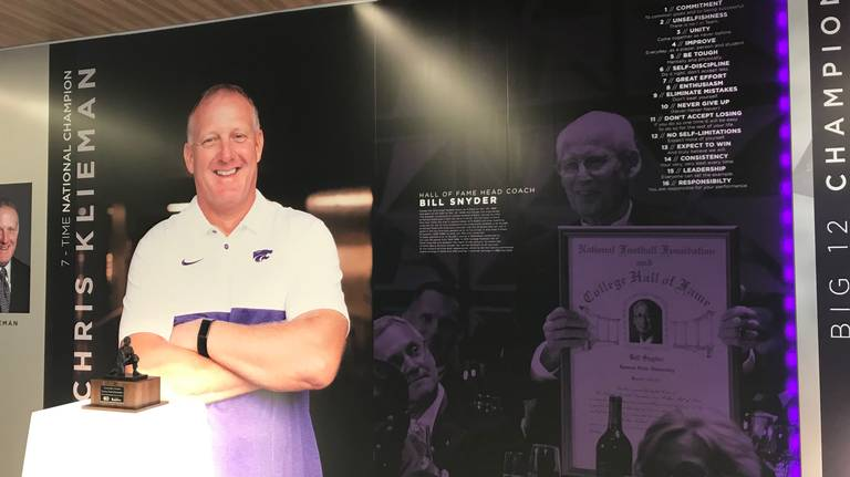 Unfazed by shadow of Bill Snyder, Chris Klieman has rejuvenated K-State football